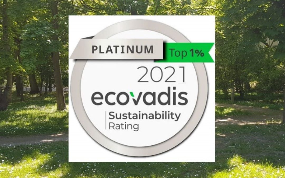 Grass Roots obtient la Certification Platinum ECOVADIS